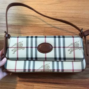 Burberry plaid purse
